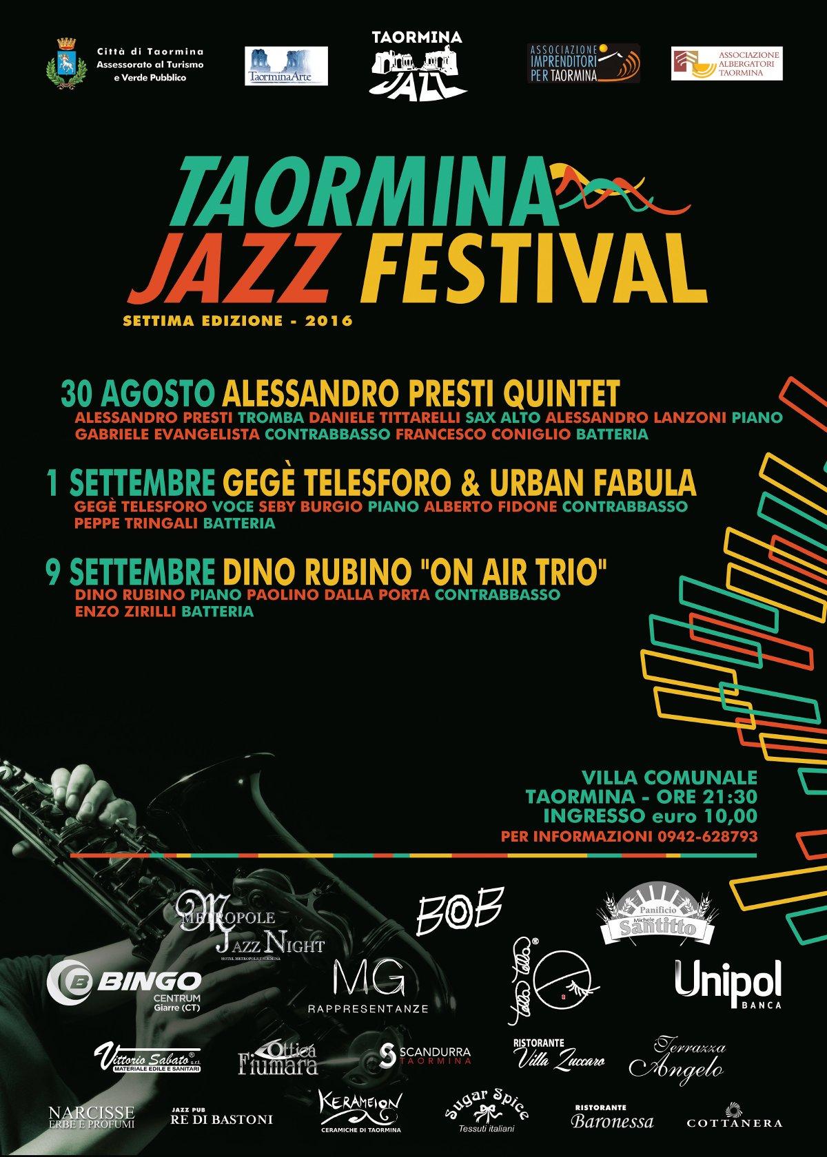 Taormina jazz taormina jazz festival 2016 for Roaming inghilterra